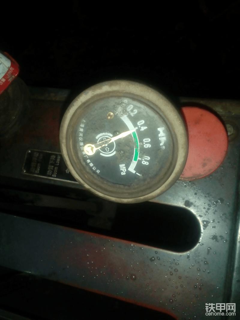 安装完毕,空挡怠速油压,明显提高了,但与理想值相差甚多。