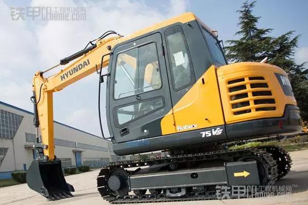 【7吨机比较】柳工75、现代75、斗山75你选谁?