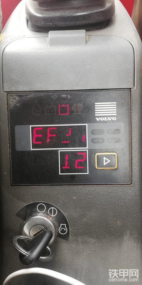 沃尔沃210b憋车,求解决,急急急!