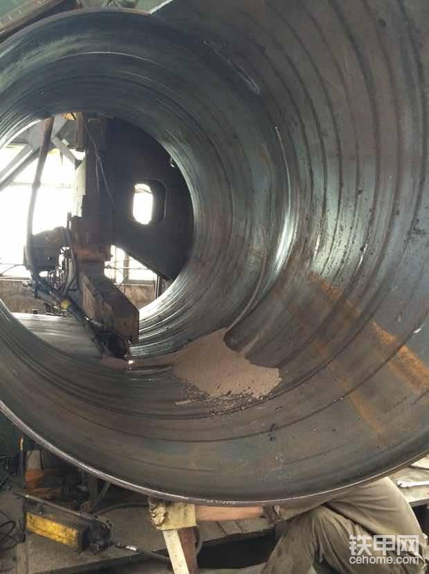 螺旋管成型机,内外埋弧焊,这个是内焊电流800安