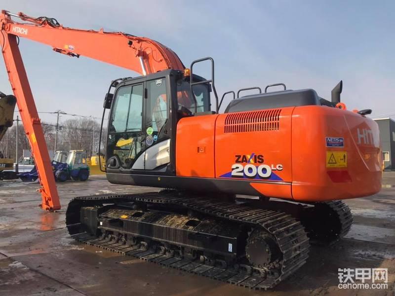 最新日立ZX200LC-6長臂挖掘機-帖子圖片