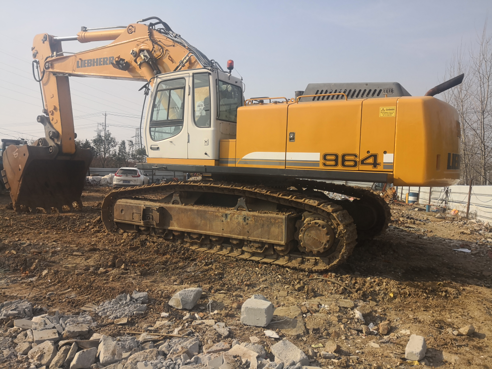 2019德国[表情][表情]原装进口964c大型挖掘机