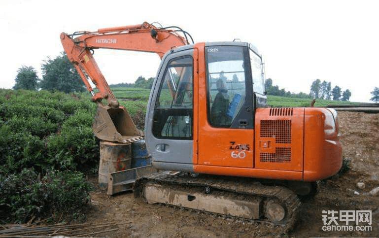 如何让日立60挖掘机工作不计时-帖子图片