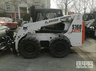 【威威挖树】二手山猫S160滑移装载机