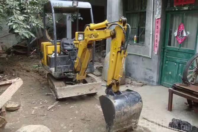 【俺小老婆】玉柴yc13-6小微挖