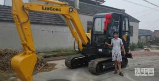 【我为柳工代言】柳工906D挖掘机5300多小时使用报告