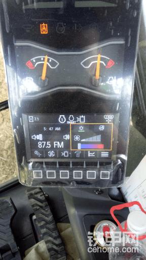 卡特307.5显示器图标上都是什么意思