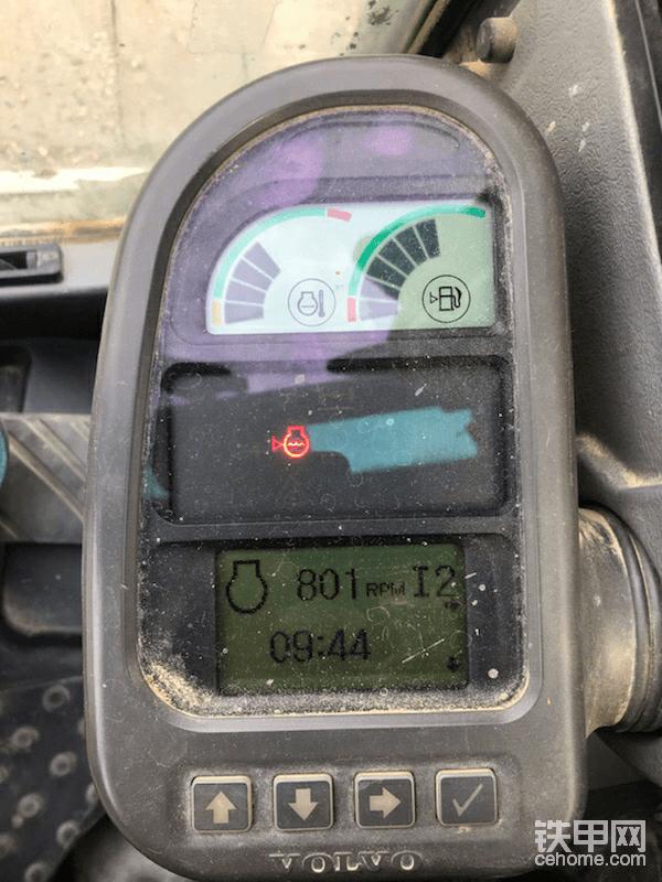 挖机缺水报警图标