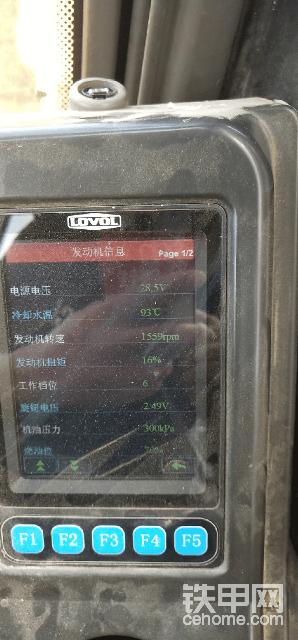 雷沃200E高温