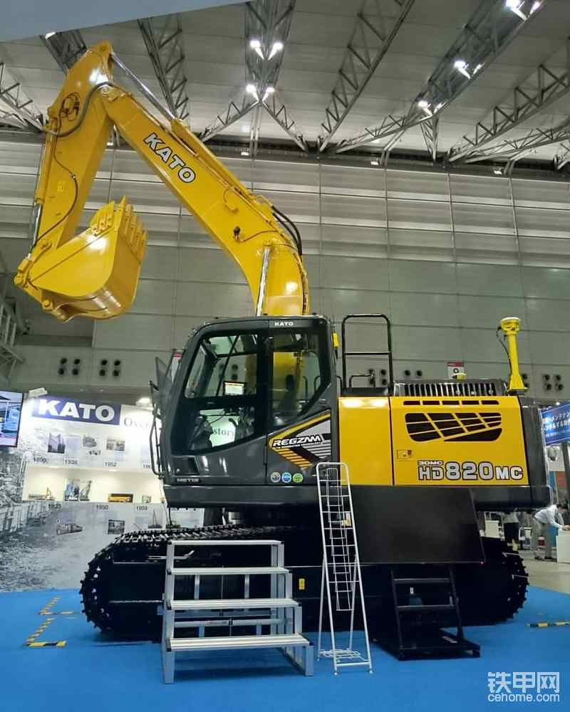 最新加滕820MC-7挖掘机-帖子图片