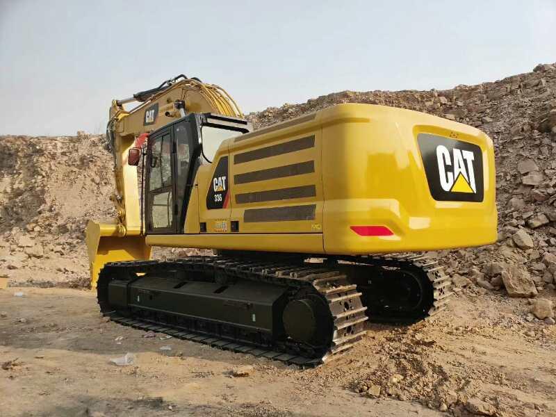 【提车作业】新一代卡特336