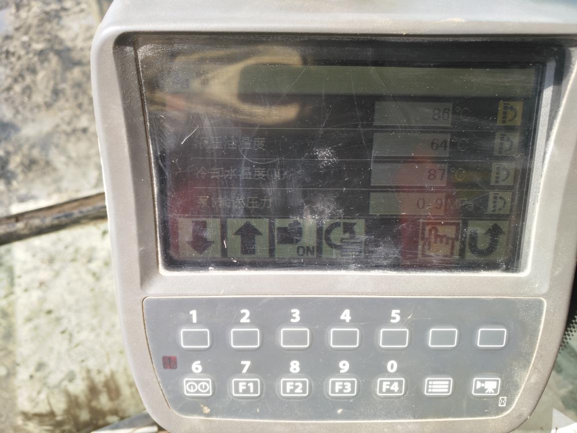 广东30多这车温度高不高日立270-3