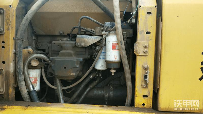 最后加装一到柴油滤芯