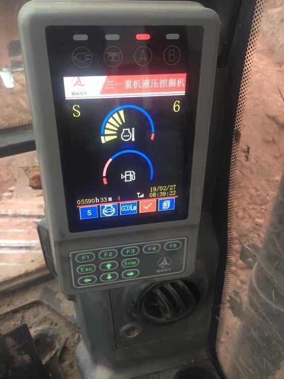 三一115C挖掘机6200小时使用报告