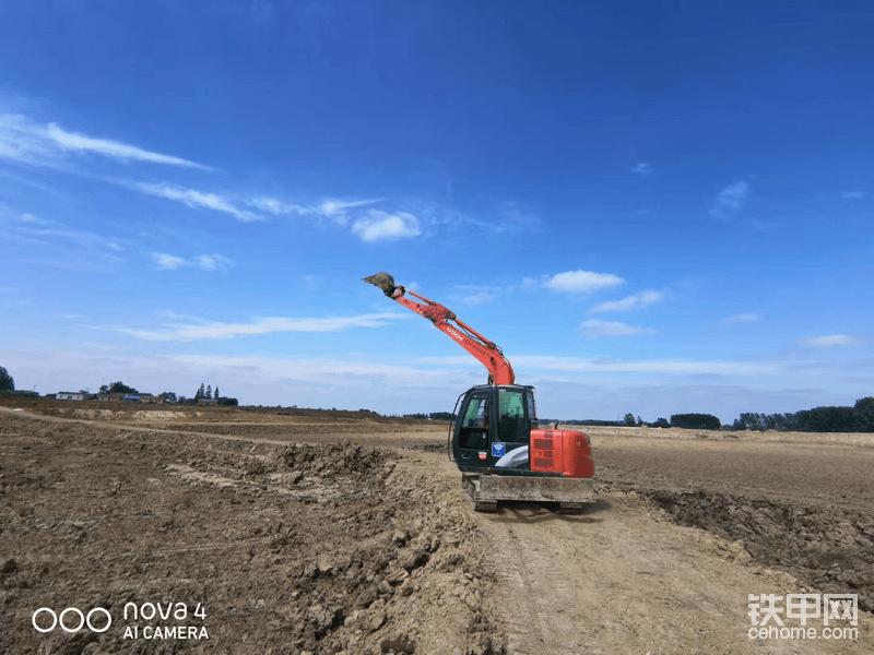 高标准农田水利建设!橙色动力正向远方招手!