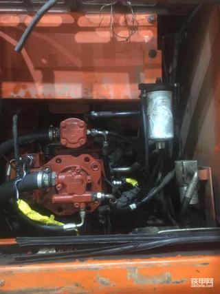 两万多小时斗山150轮挖,换泵新生了