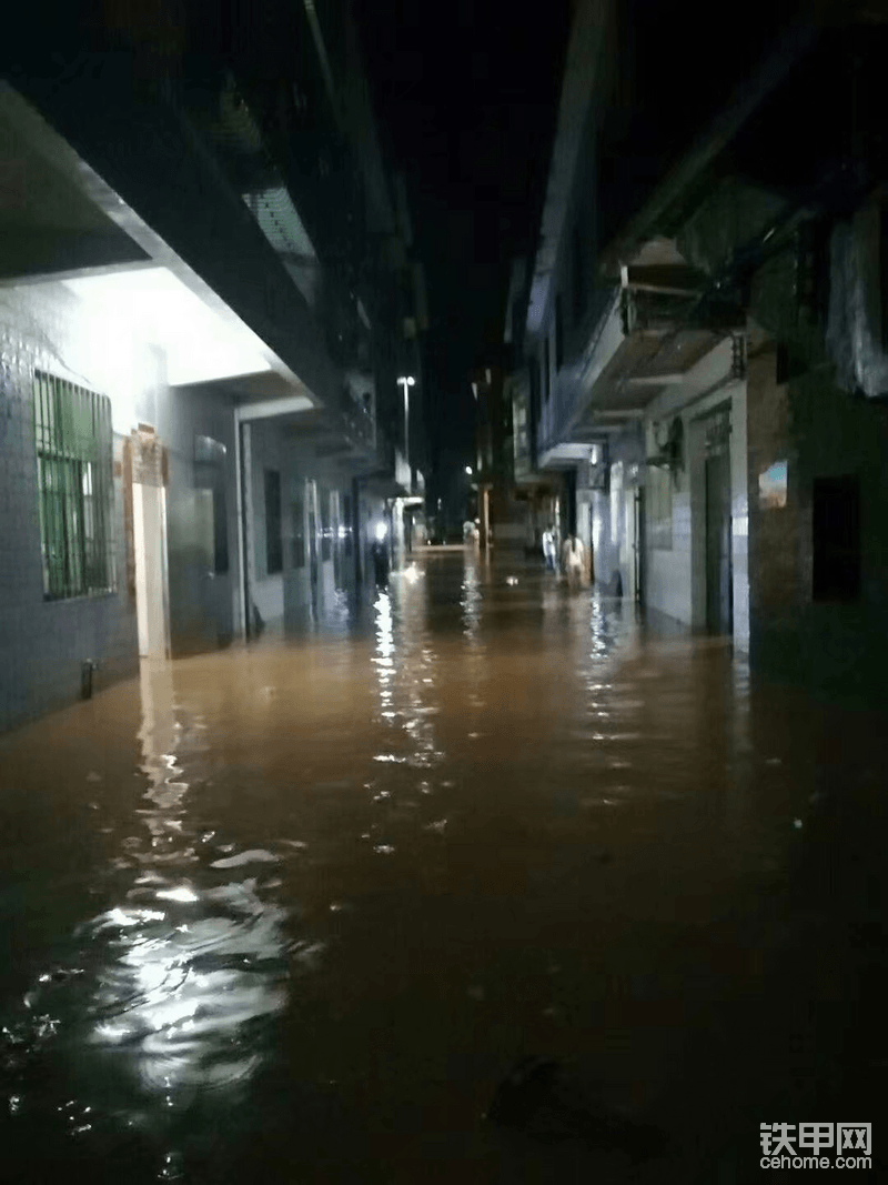 洪水来得太快了