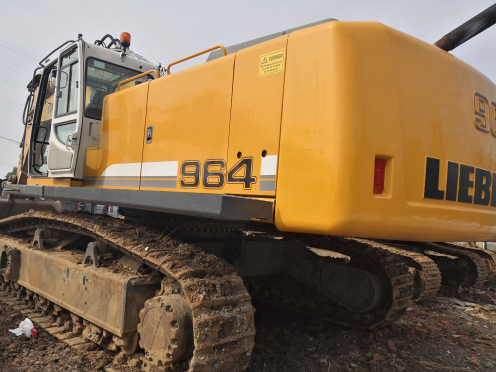 欧洲原装进口70吨利勃海尔大型矿用挖掘机