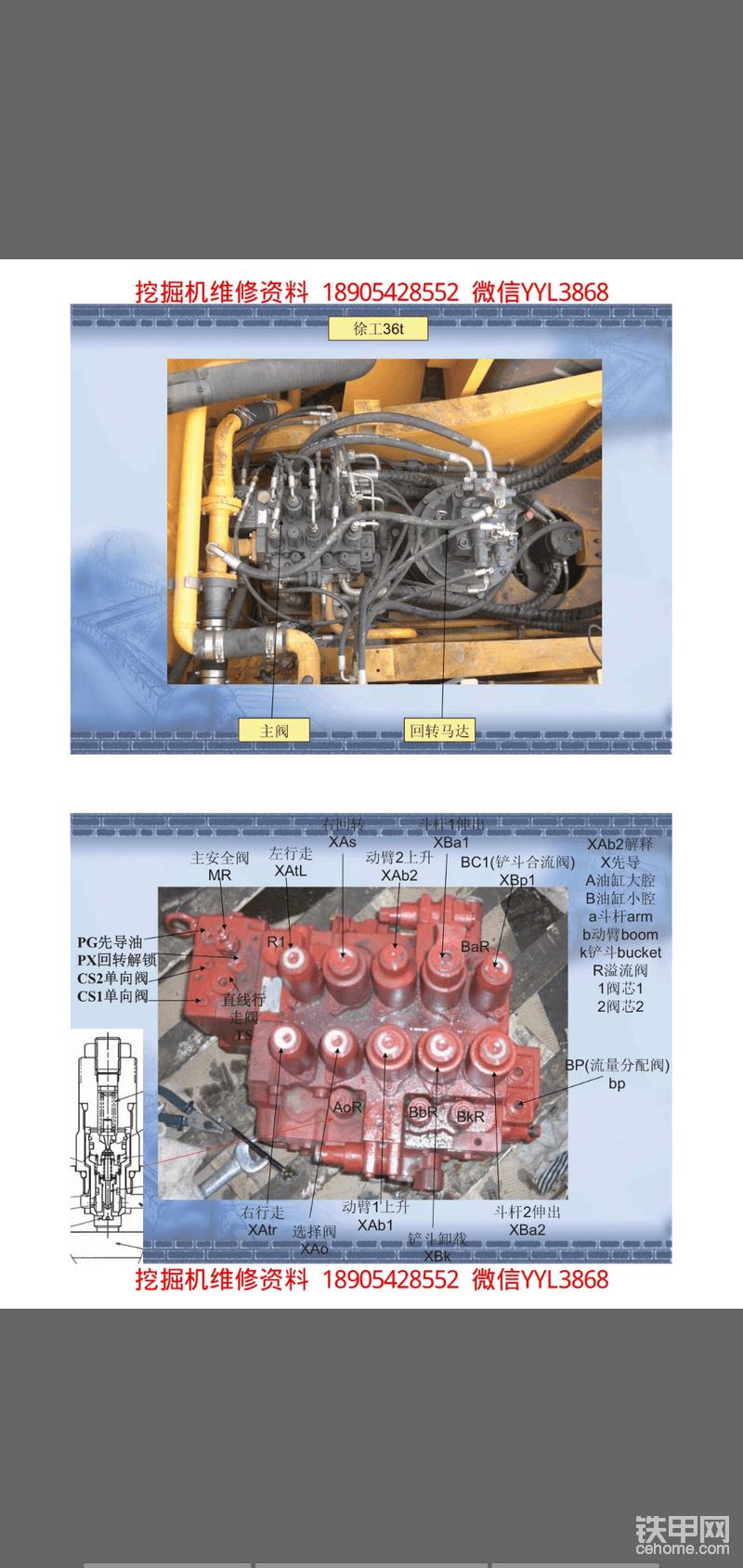 挖掘机液压件资料