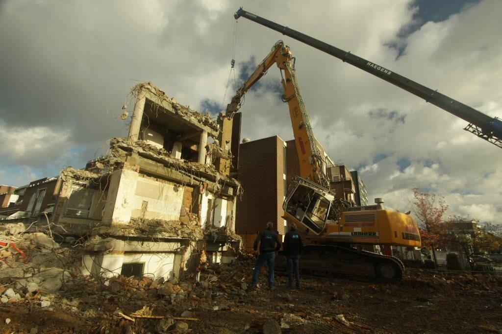 海外靓机:利勃海尔拆楼机