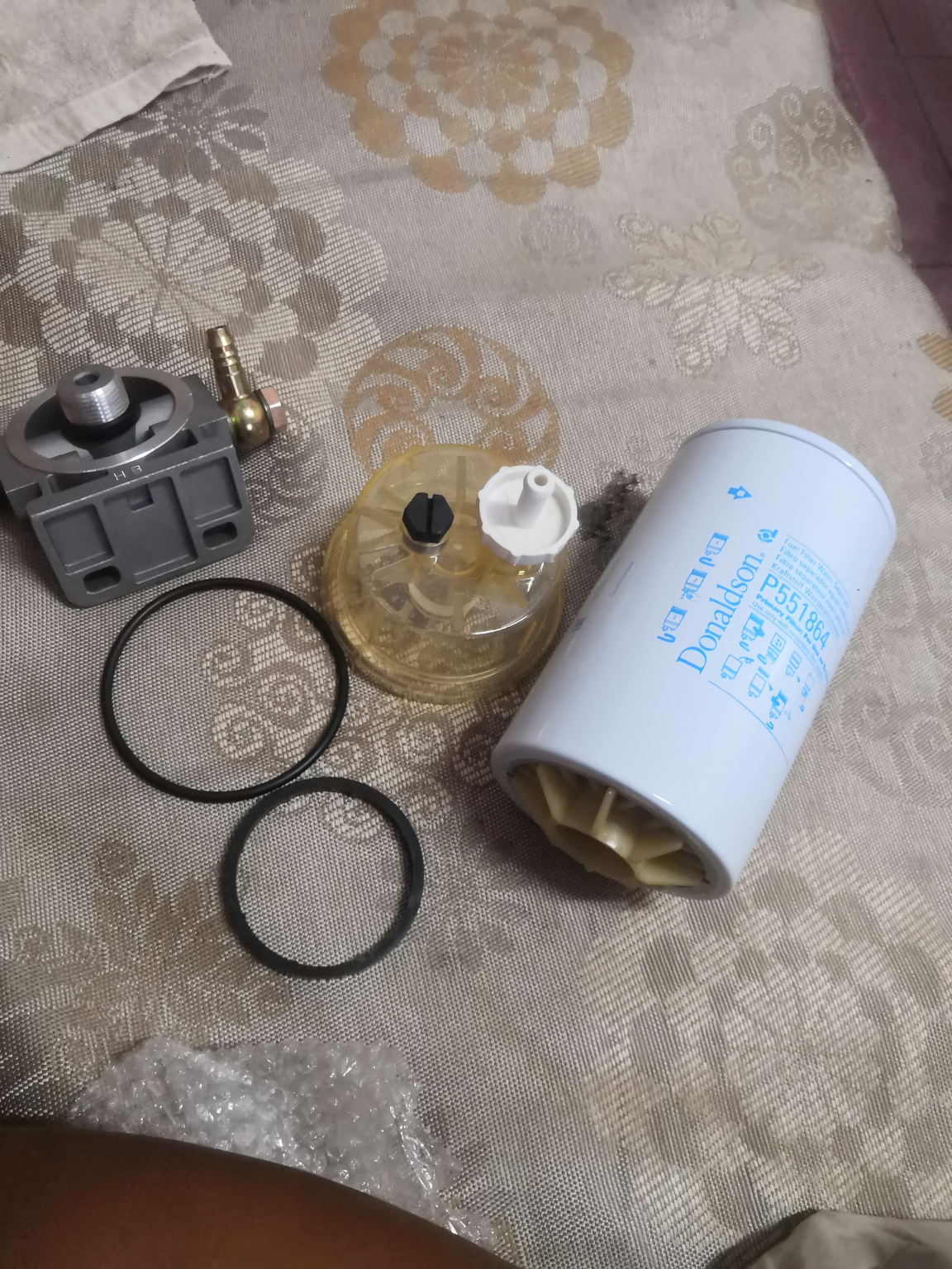 小松200-8加装油水分离器