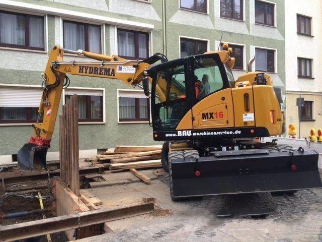 海外靓机:HydremaMX16轮挖