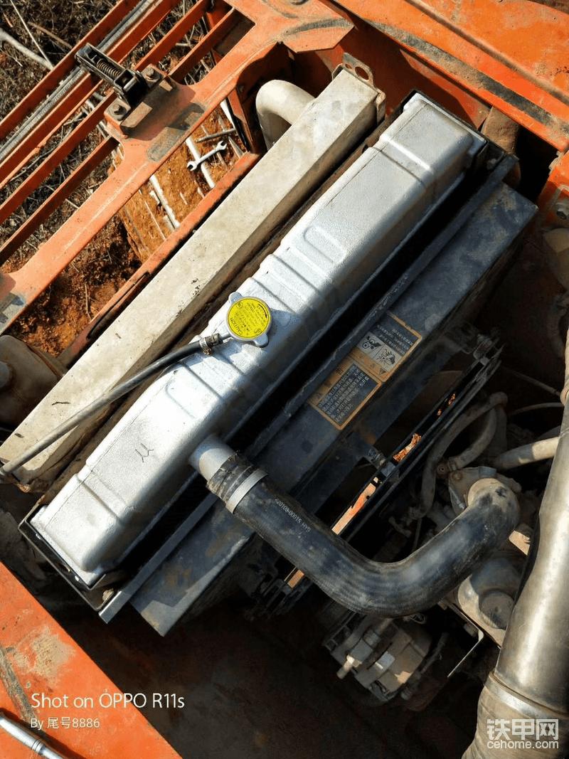 原厂水箱散热器换成铝的,很好用