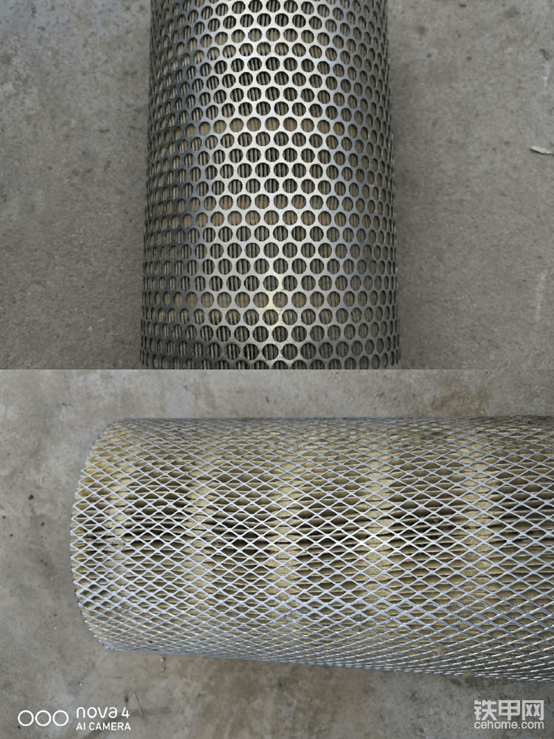 日立原厂空滤和杂牌空滤对比-帖子图片