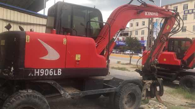 鑫豪轮式挖掘机906