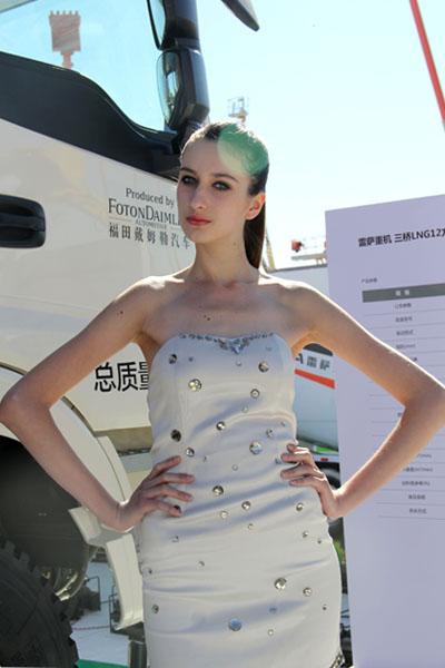 今年北京BICES展你来看腿...不对...看工程机械吗