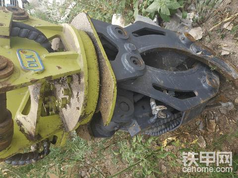二手挖掘机可拆卸抓木在售