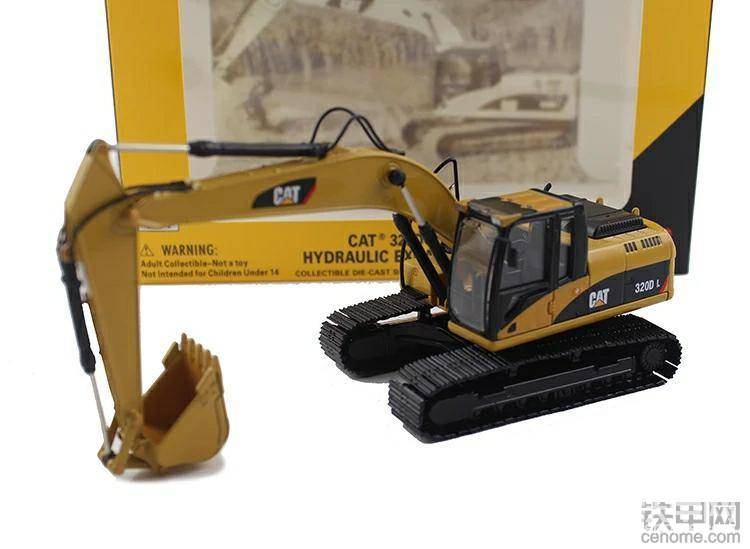 第2名:卡特合金挖掘机模型+铁甲大V认证(精华数排名第二)