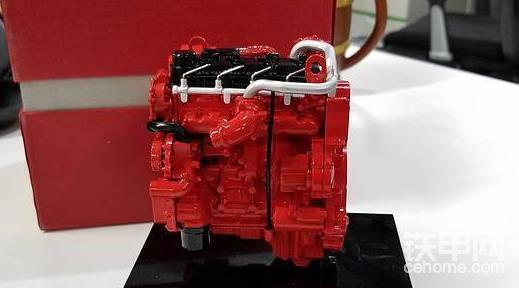 第3名:精美发动机模型+铁甲大V认证(精华数排名第三)