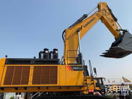 柳工990F挖掘机,柳工最大的挖掘机-帖子图片