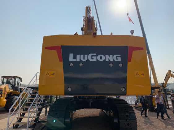 柳工990F挖掘机,柳工最大的挖掘机