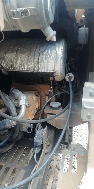 卡特305.306上拖车熄火,冬天冻滤芯解决办法