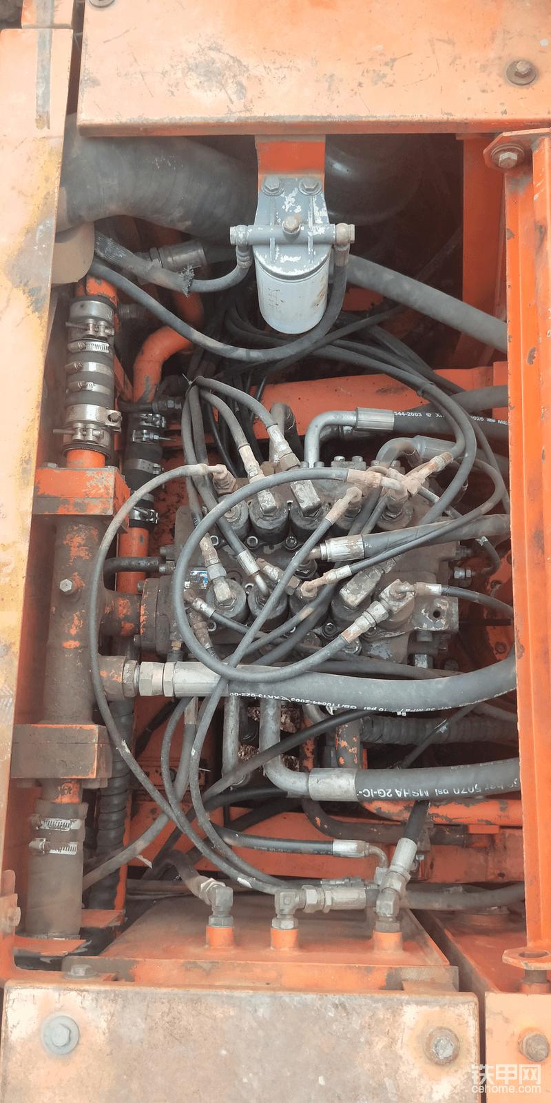 分配阀换过油封,这么多年了正常