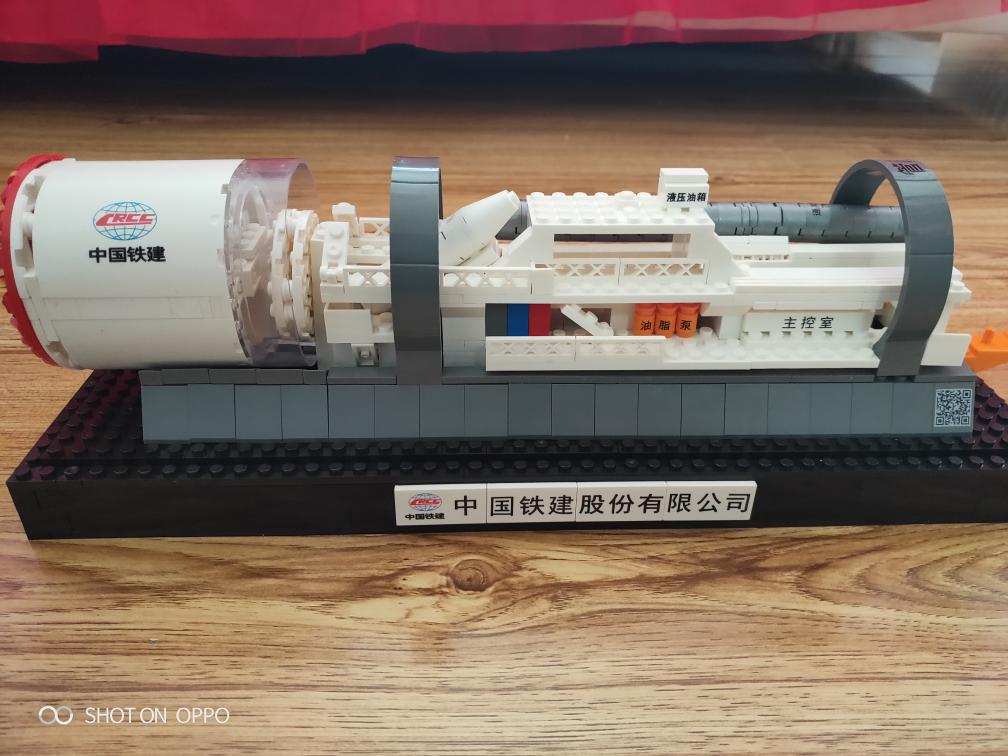 【我要火】 盾构机模型组装完毕