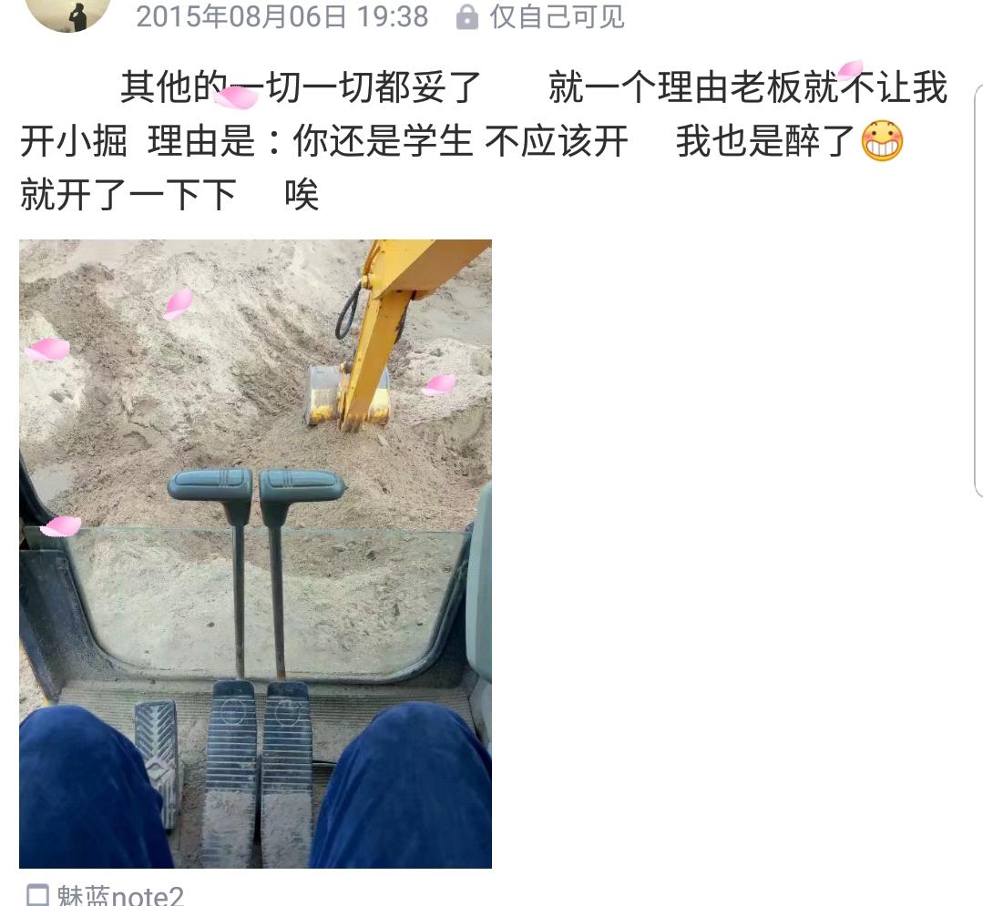 【我要火】20岁小伙对挖机的热爱[表情](看到帖子便是缘)