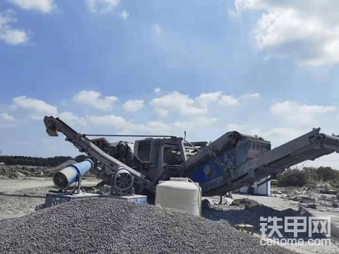 德国产克磊镘碎石机