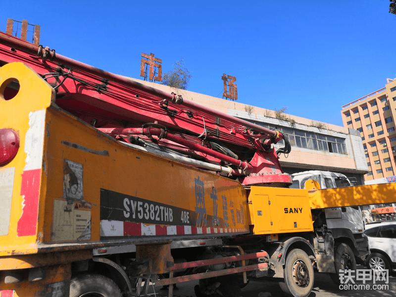 【我要火】三一48米泵車換臂架泵油封-帖子圖片