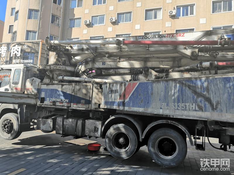【我要當紅人】中聯47米泵車換恒壓泵-帖子圖片