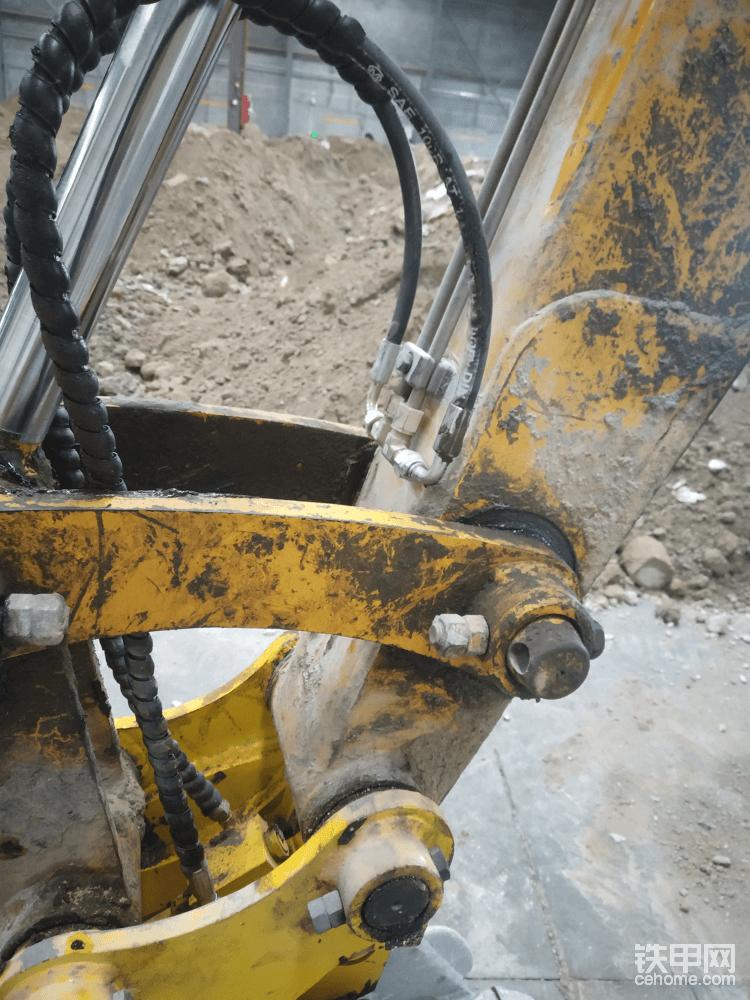 铁管的尾部最好就是这个位置了,开完斗工字架压不着油管