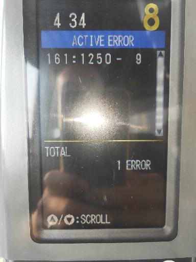 卡特320D2GC故障代码161:1250-9
