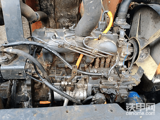 日立55自己改发动机