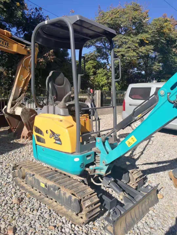 日本原装进口小型挖掘机久保田