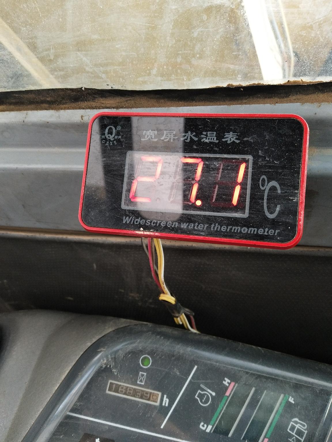 热机十几分钟了 才这温度