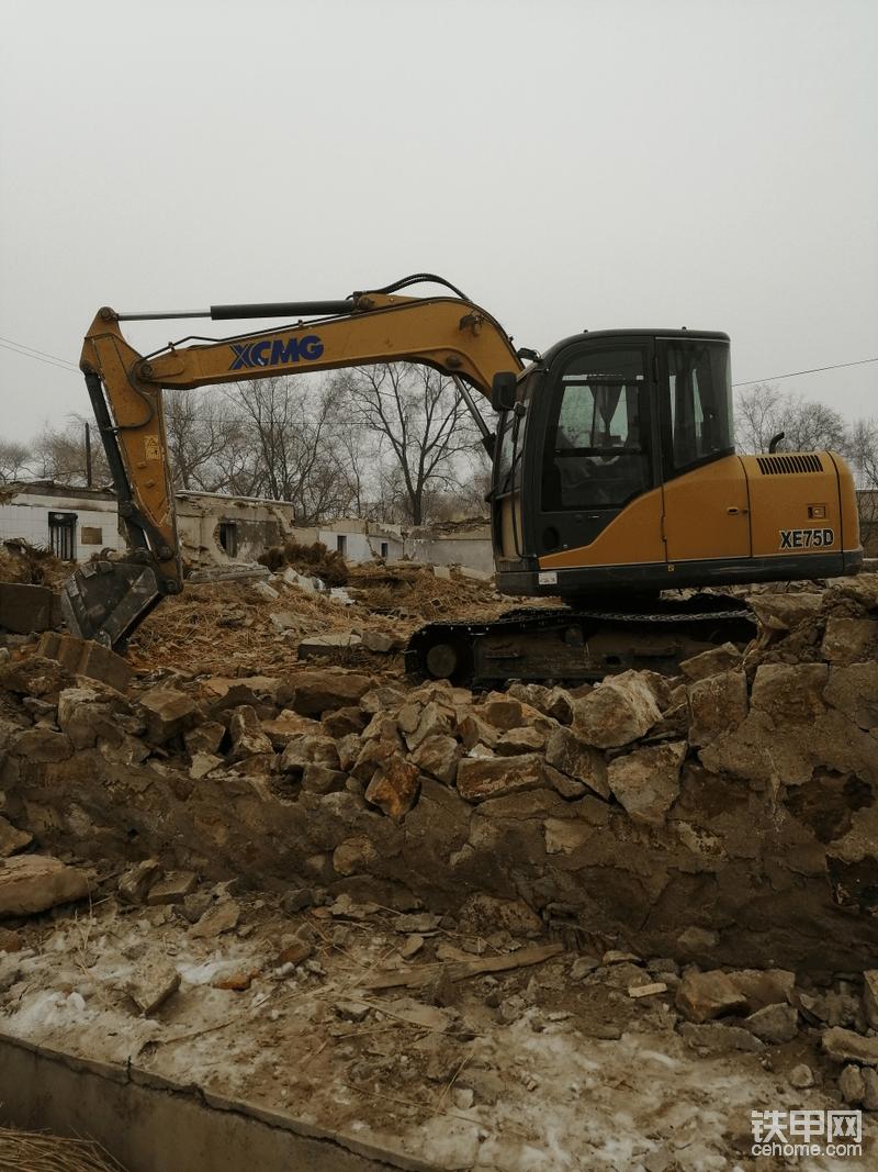 棚户区改造拆迁现场