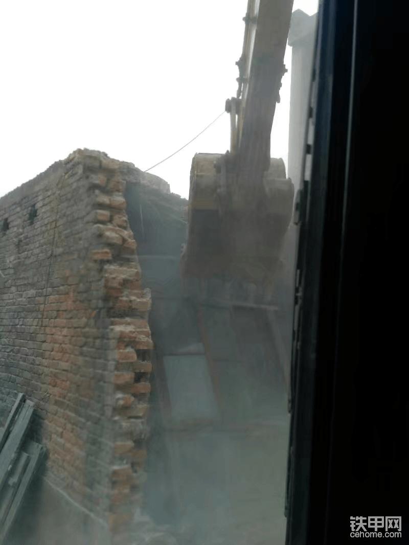 拆砖房不用锤