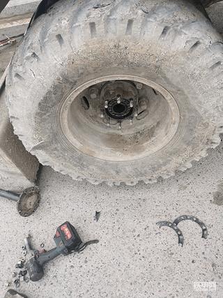 改装雷道滚轮刹车